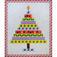 JP Needlepoint Christmas Tree of Ribbons