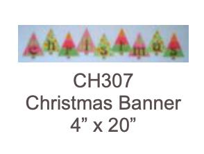 Eye Candy CH307 Christmas Banner