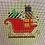 Thumbnail: Burnett & Bradley BB 6190 Red Sled Ornament