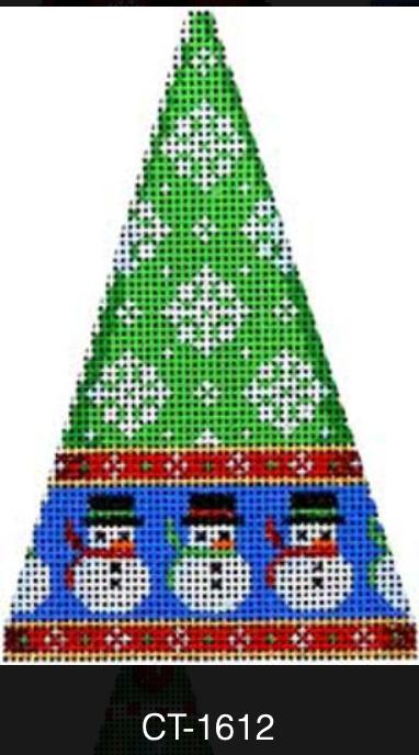 AT CT-1612 Snowman/Flakes Mini Tree