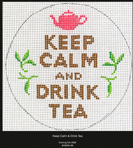 Kate Dickerson Keep Calm and Drink Tea