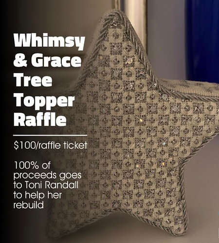 RAFFLE CHANCE FOR TREE TOPPER