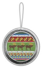 """Lee's Magnetic Ornament for 4"""" Insert SILVER"""