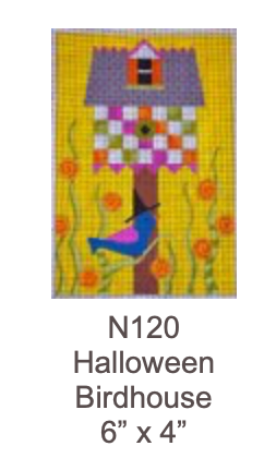 Eye Candy N120 Halloween Birdhouse