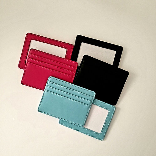 Planet Leather Credit Card Holder
