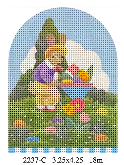 Melissa Shirley 2237C Easter egg Bunny