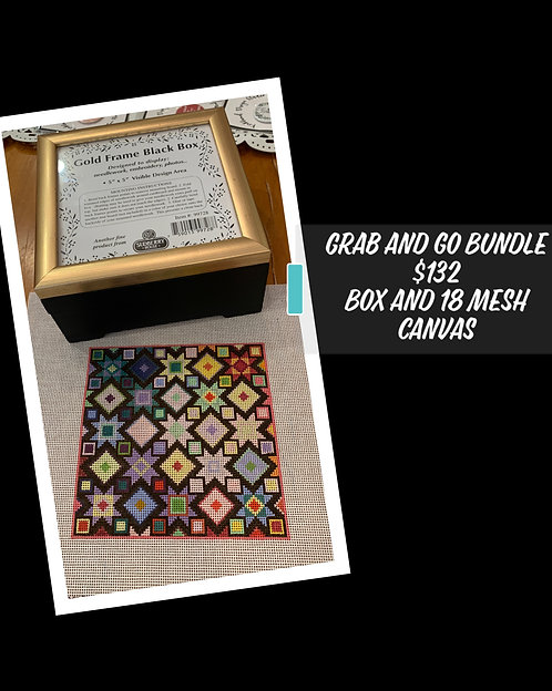Grab and Go Bundle:  Box and 18 mesh canvas