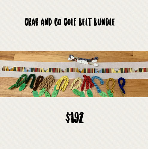 Grab and Go Golf Belt Bundle -18 mesh