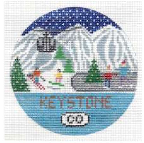 Doolittle Ski Rounds 18 mesh Keystone