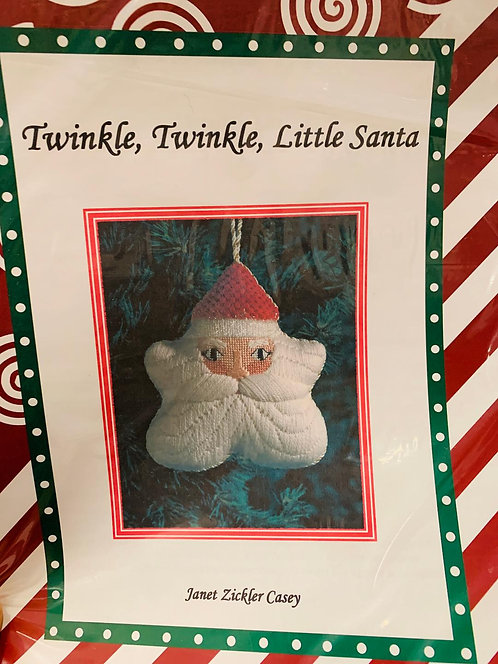 Twinkle Twinkle Santa with Stitch Guide