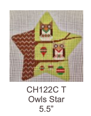 Eye Candy CH122C T Owls Star Traditional Colors