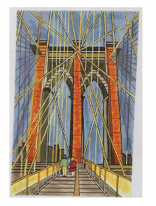 Marcia Steinbock Brooklyn Bridge Morning MS162