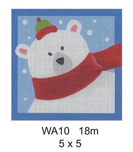 """Pepperberry Designs WA10 5"""" Square"""