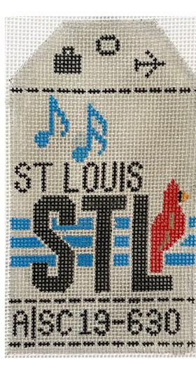 HedgeHog STL St Louis Travel Tag