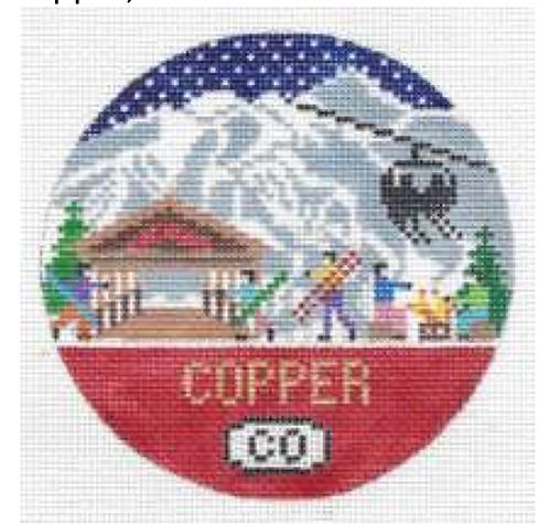 Doolittle Ski Rounds 18 mesh Copper