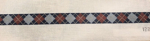 Meredith Collection Argyle belt 122FF
