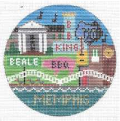 Doolittle Destination Rounds 18 mesh Memphis