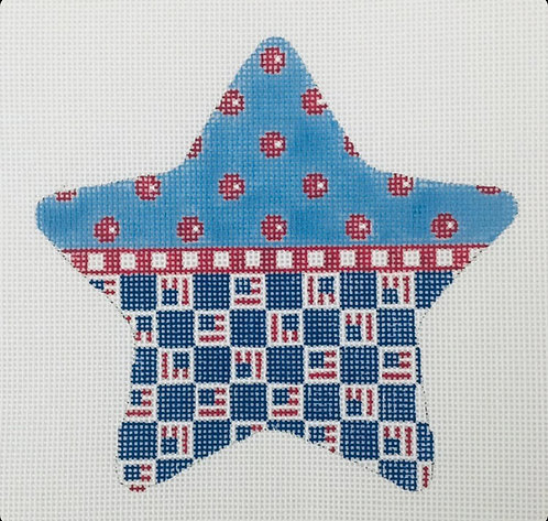Kangaroo Paw PS20-1 Patriotic Star