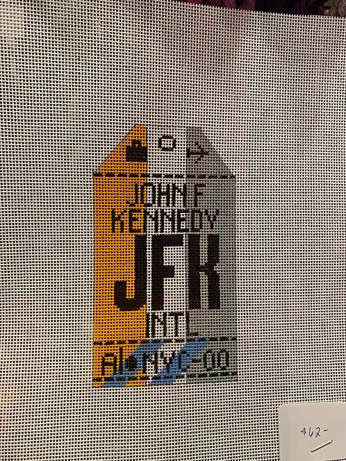 HedgeHog JFK Travel Tag