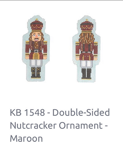 KB 1548 Double Sided Nutcracker
