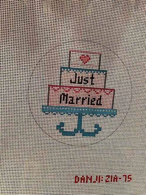 ZIA 75 Just Married Ornament