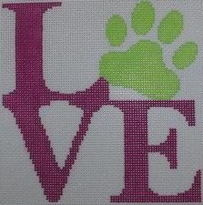 Kristine Kingston 0108 Love Paw -Pink