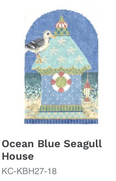 Kelly Clark Ocean Blue Seagull House