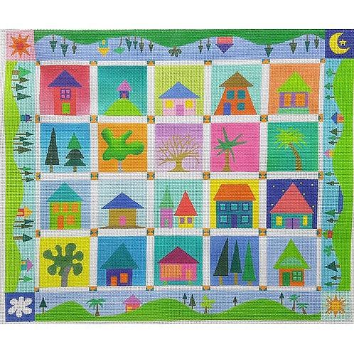 Zecca ZE714 Little Houses 18 mesh