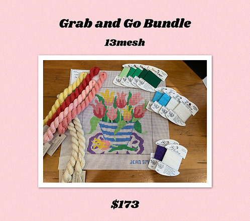 Grab and Go Bundle Jean Smith Tulips 13 mesh