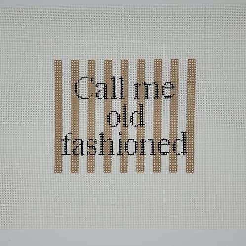 Silver Stitch Needlepoint Call Me Old Fashioned
