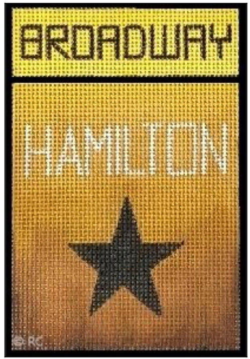 Raymond Crawford Playbill -Hamilton