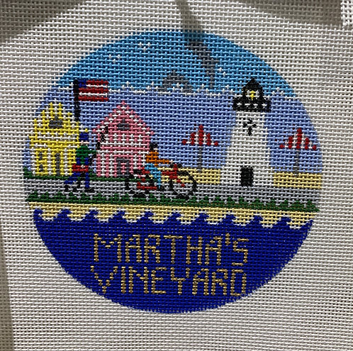 Doolittle Stitchery R-302 Martha's Vineyard