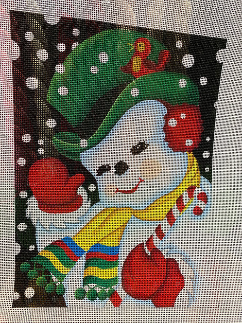 Raymond Crawford HO1129 Jolly Snowman