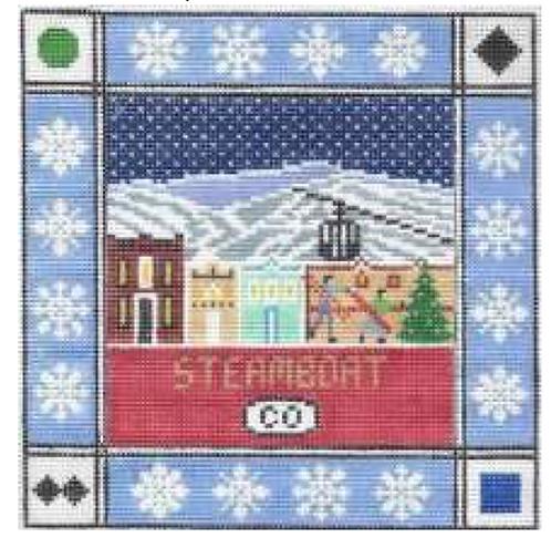 Doolittle Ski Squares 13 mesh Steamboat