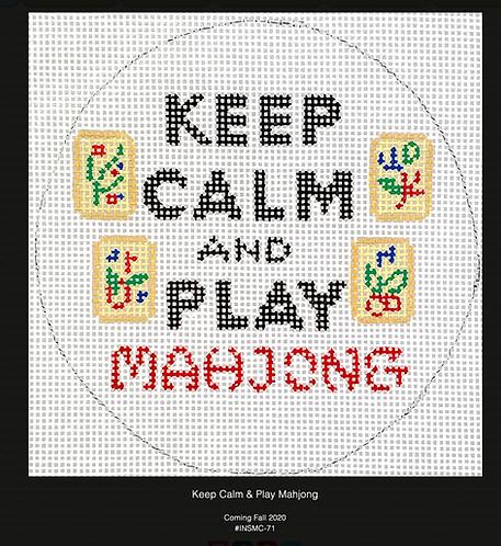 Kate Dickerson Keep Calm and Play MahJong