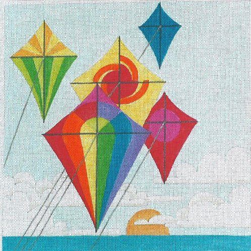 Colorful Kites - 13 mesh