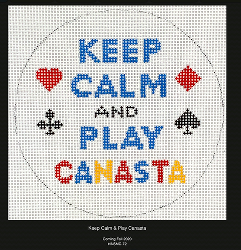 Kate Dickerson Keep Calm and Play Canasta