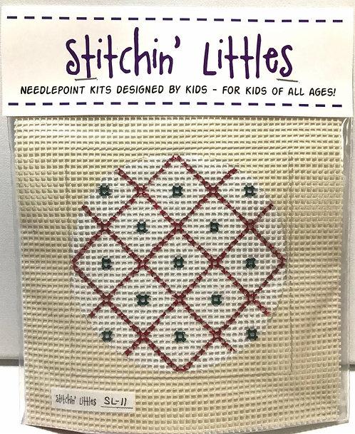 Stitchin' Littles SL-11 White Sparkle
