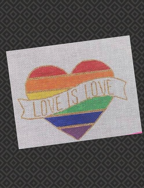 Judy Tasch Needlepoint Love is Love
