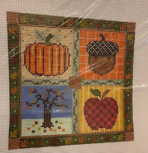 Debbie Woodard 885AC Fall with Stitch Guide