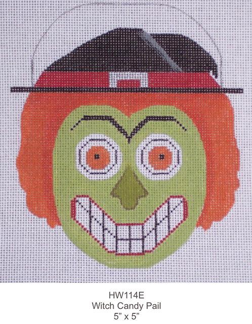 Eye Candy HW114E Candy Pail Witch