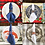 Thumbnail: Halcyon House Designs Napkin Rings - Cranberry