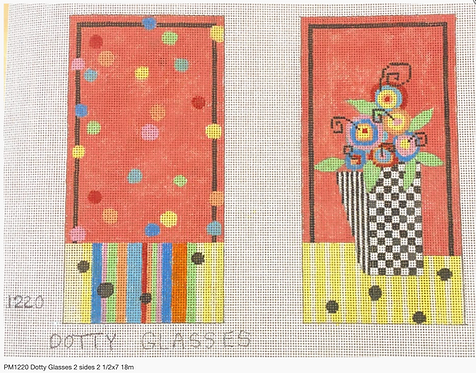 Penny Macleod 1220 Dotty Glasses - 2 sides 18 mesh