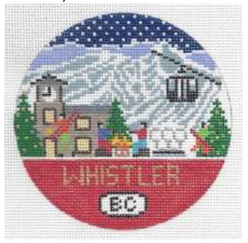 Doolittle Ski Rounds 18 mesh Whistler
