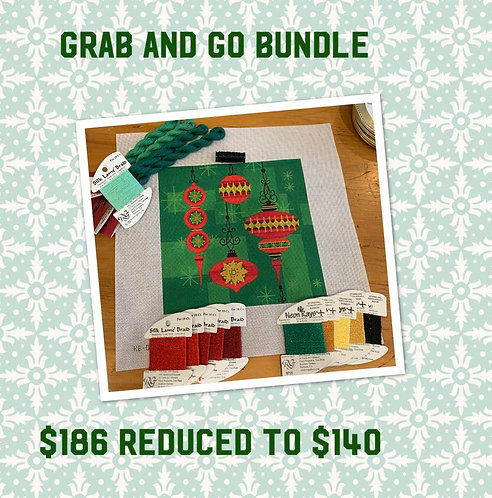 Grab and Go Holiday Canvas and Threads 18 mesh