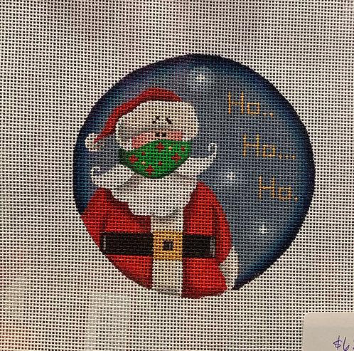 Rebecca Woods 1060 B Santa with Mask