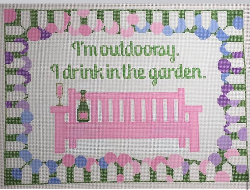 Rachel Donley RD241 Drink by the Garden 18 mesh