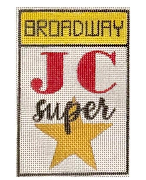 Raymond Crawford Playbill - JC Super Star