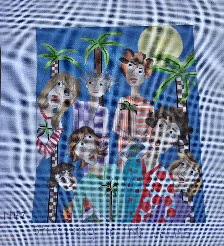 Penny Macleod PM1447 Stitching in the Palms