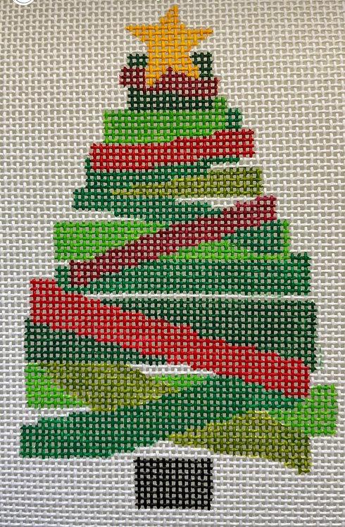 "CabellStitchery Christmas Tree 8.5"" - 13 mesh"